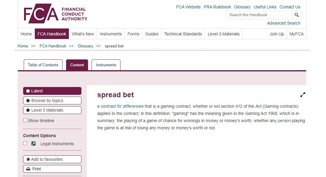 Spread-Betting-FCA