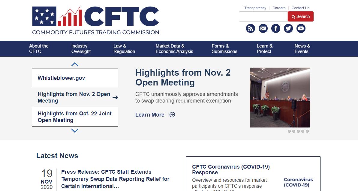 US-CFTC-website