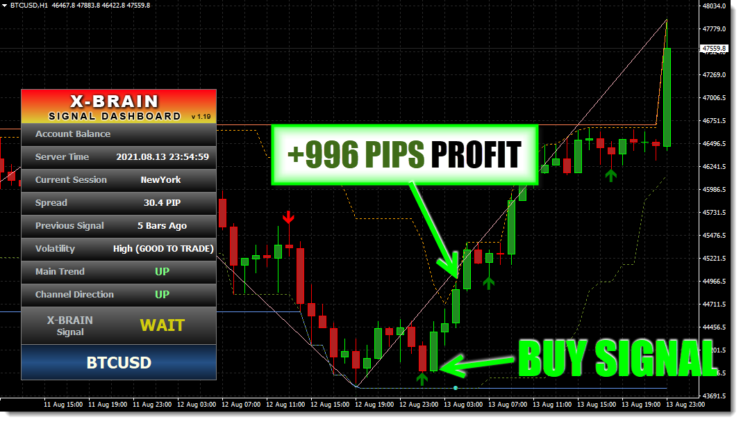 Trend Trading System - The X-Brain Method Forex System